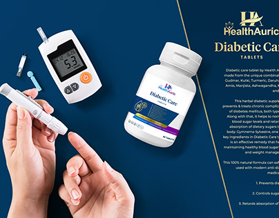 Branding & Packaging for Health Products