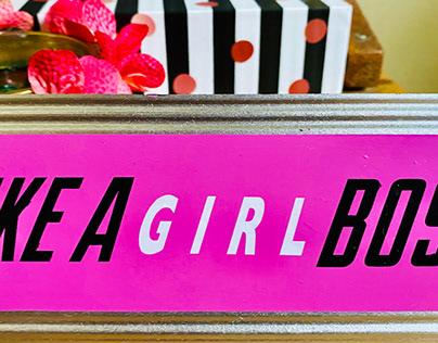 Like a girl boss✨