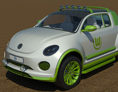 The Volkswagen Beetle Kalahari Pick-Up Concept