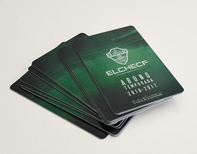 Diseño abonos fútbol Elche CF