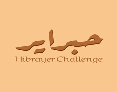 Hibrayer Typography Challenge 2020