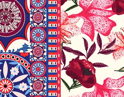 Rapport - Floral Etnico