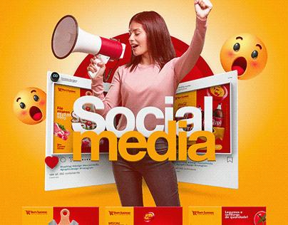 Social Media - Artes Para Supermercado