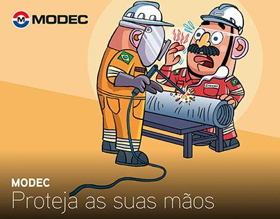Modec - Proteja as suas mãos