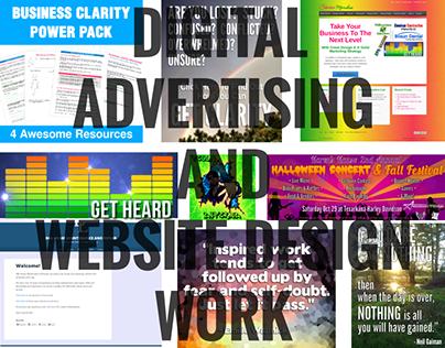 Digital Advertising And Website DesignWork