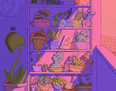 Witch Patio Garden