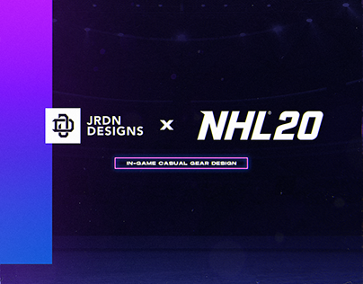 EASports NHL20 Casual Gear Design