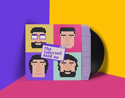 The Internet Said So - Podcast Logo and Identity