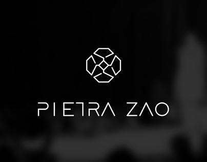Pietra Zao - Logotipo e isotipo / Logotype and isotype.
