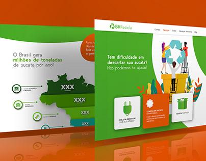 BH Recicla   Homepage