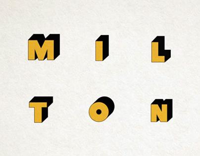 Motion Typography - Milton Glaser