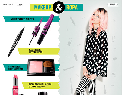 Maybelline - Post para Facebook