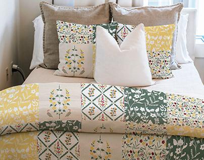 AURORA- A textile print collection