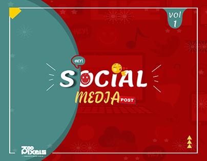 social media designs VOL- 1
