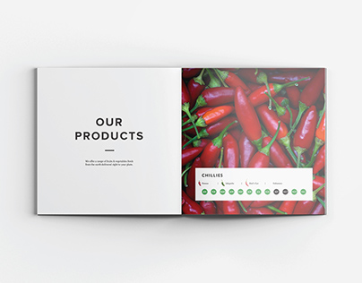 Cairo Green Farms - Catalog Design