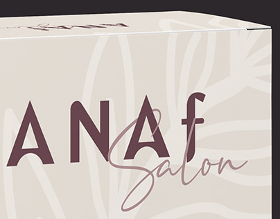 Anaf Salon Product Packaging