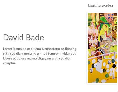 David Bade WIP