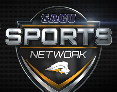 SAGU Sports Network Logo and Brand Identity