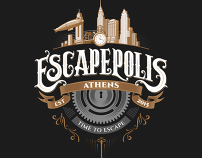 ESCAPEPOLIS | Escape Rooms in Athens | logo design