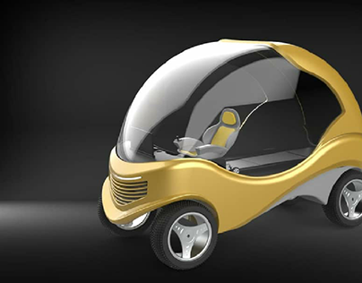 3D Modelling of an Electric Car
