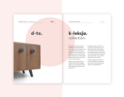dots. | retro furniture branding and catalogue