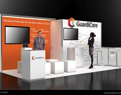 Exhibition Design: GuardiCore RSA 2018 Booth