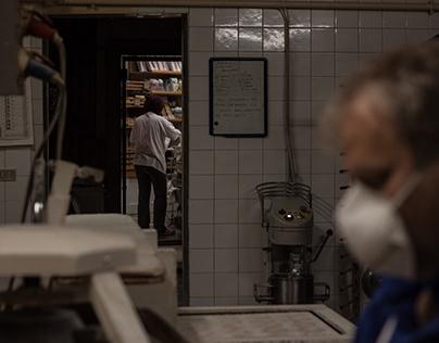 Photography storytelling | Bakery by night