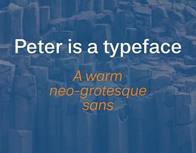 Peter Typeface