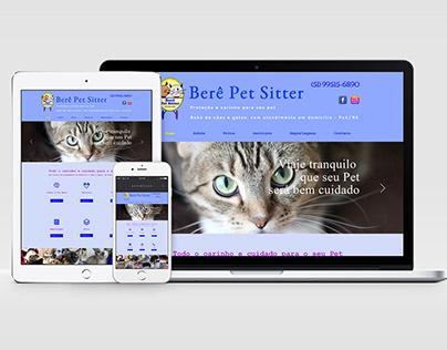 Site Berê Pet Sitter, 2017