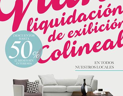 """Colineal """"Gran Liquidación"""""""