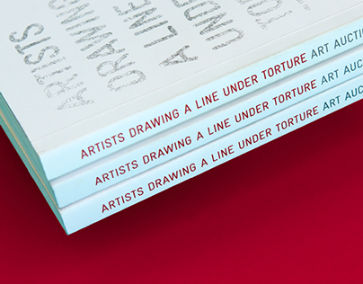 Freedom From Torture: Art Auction Brand & Catalogue