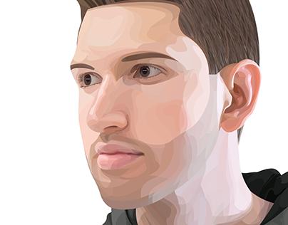 Illustrator Vector Portrait