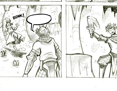 Dust - Pencils - One-Page Story