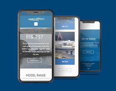Website Hydrosport