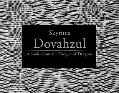 Skyrims Dovahzul – A book about the Tongue of Dragons