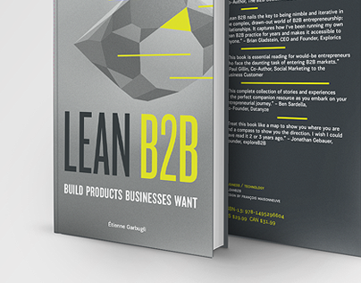 LEAN B2B · Couverture · Book cover