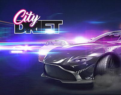 City Drift - Game UI & Logo Design