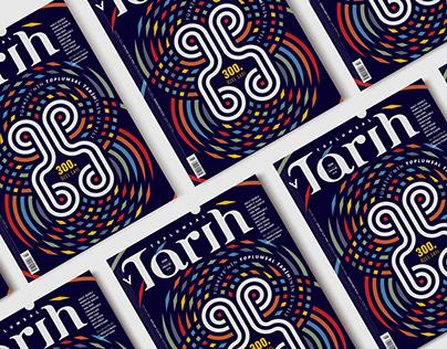 TOPLUMSAL TARİH MAGAZINE COVER DESIGN
