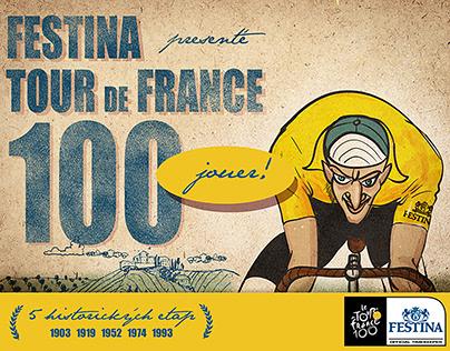 Festina Tour de France 100 online game