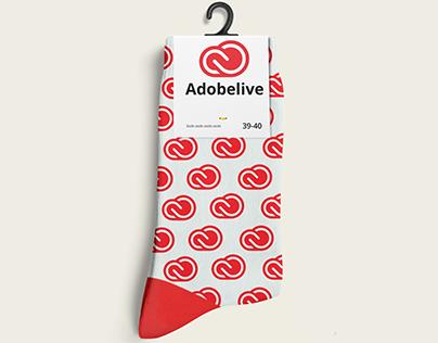 Creative cloud sock.