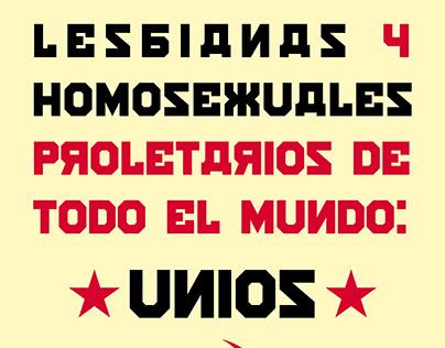 Lesbianas y Homosexuales de Todo el Mundo: Uníos