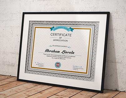 3 Great Multipurpose Certificate Vol-55