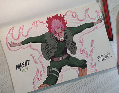 Naruto Themed Sketches