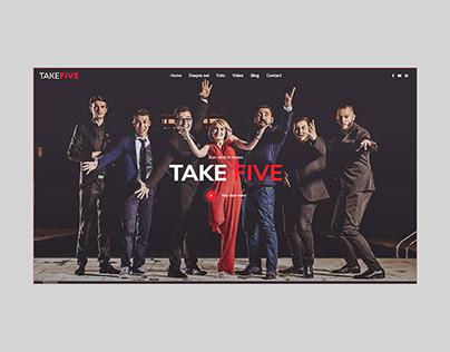 Take Five Music Band — Website