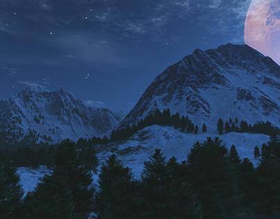 3D environments - Snowscapes