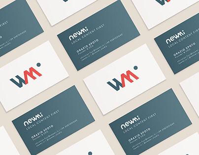 newmi brand identity