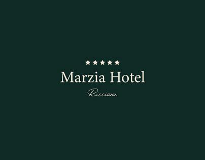Marzia Hotel - Visual Identity