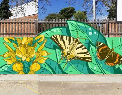 Four seasons ● Mural design