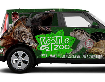 The Reptile Zoo Re-Branding