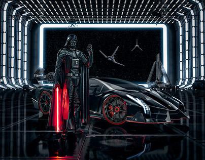 Lamborghini Advertising - Darth Vader